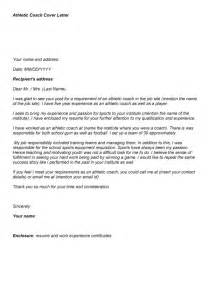 Sle Cover Letter Position by Cover Letter For Coaching Position The Letter Sle