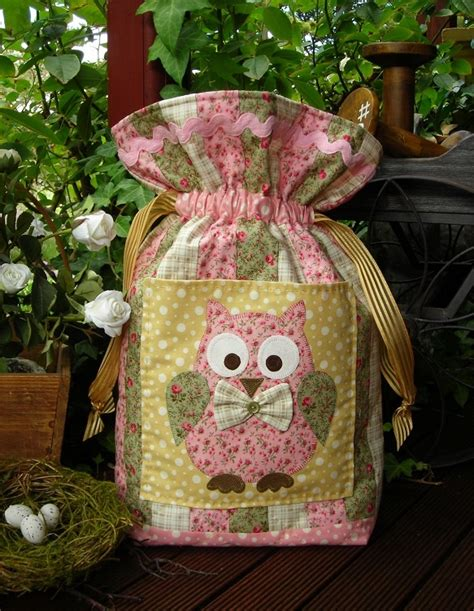 Patchwork Shops Australia - esme owl bag pattern by sally giblin patterns1594 12