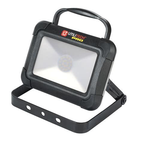 Shop Utilitech Led Rechargeable Portable Work Light At