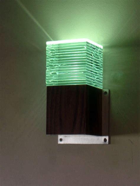 led glass wall lights mini led glass layer wall light