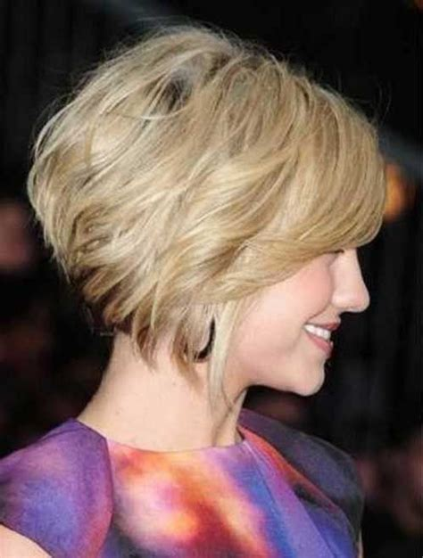 short bob styles with a subtle stacking 17 best images about progressive haircut on pinterest