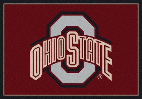 Ohio State Runner Rug 5x8 Milliken Ohio State Buckeyes 45262 Ncaa Spirit Area Rug Approx 5 4 Quot X7 8 Quot