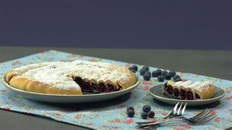 Blaubeerschnecke Einfaches Kuchen Rezept Zum Nachbacken
