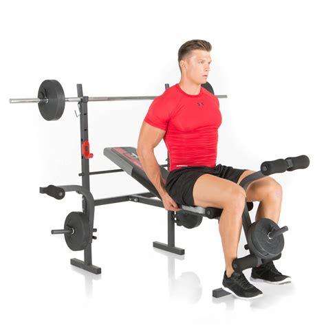 Banc De Musculation Avec Poids by Banc De Musculation Bermuda De Hammer Avec Des Poids 25 Kg