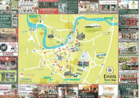 map of ennis as they were history of ennis and clare