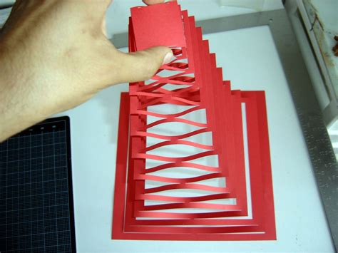 How To Make Pop Ups On Paper - pop up pyramid