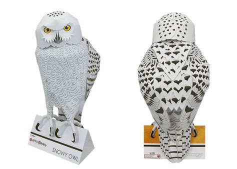 Snow Owl Papercraft By Elfbiter - snowy owl kit168 ä á chæ i m 244 h 236 nh giẠy miá n ph 237