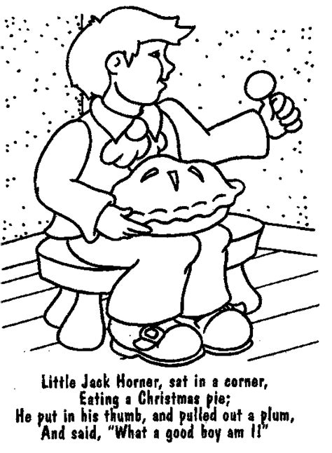 The Brilliant Nursery Rhymes Coloring Pages Pertaining To Nursery Coloring Pages