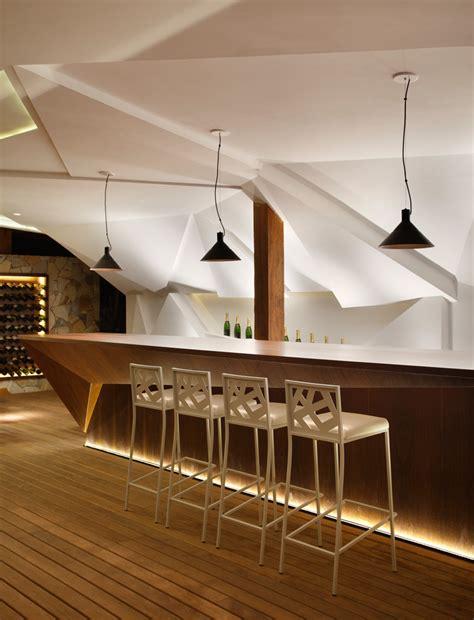 design a bar nosotros bar avec meuble bar design et mur facett 233 lumineux