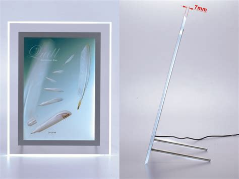 light boxes for photography display a4 size ultra slim led light box frame for