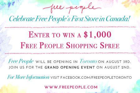 Contest Win 1000 Pink Mascara Shopping Spree win a 1000 free shopping spree canada