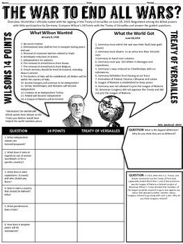 The World Wars A Rising Threat Worksheet Answers