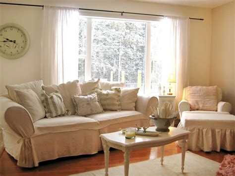 chic living room white shabby chic living space photos hgtv