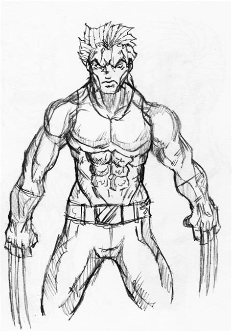 sketchbook x wolverine sketch by killswitch chris on deviantart