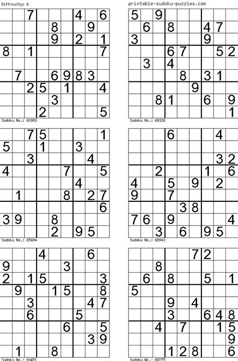 printable sudoku puzzles 6 per page puzzles for w e oct 7 9 number search sudoku word search