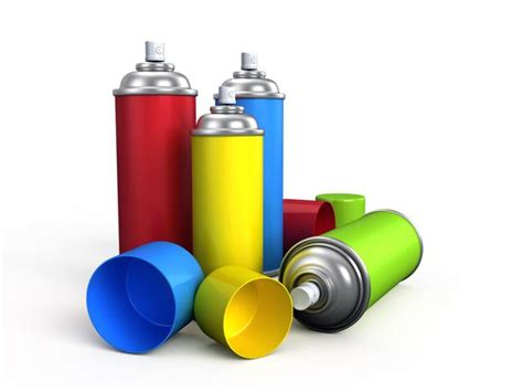 what to do with empty spray paint cans aerosol cans dispense everything from hairspray to