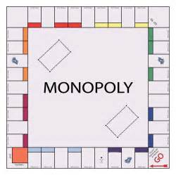 Empty Monopoly Board Template by Economic Development News For Sun Prairie Wisconsin