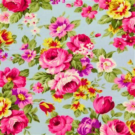 flower design materials vintage floral fabric pattern love pinterest retro