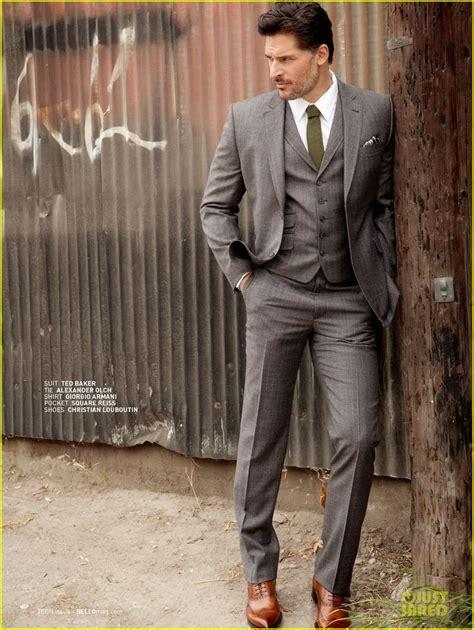 Giorgioa Armani 388 2 joe manganiello suit ted baker tie olch