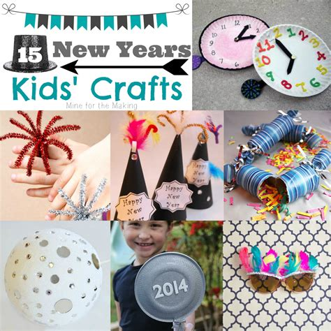 new year craft teach me tuesday 15 new years crafts mine for the