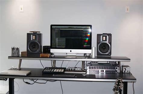 my diy sit 2 stand studio desk ikea counter tops ikea