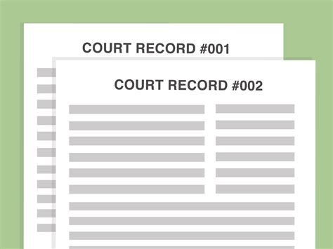 Find Court Records Free How To Find Free Court Records 8 Steps With Pictures