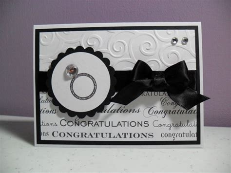Handmade Engagement Card - handmade engagement card congratulations engagement