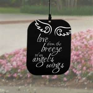 In Loving Memory Personalized Gifts Angel Wind Chimes