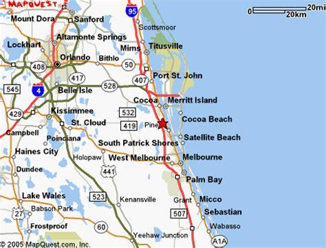 map of florida viera map of brevard county merritt island cocoa