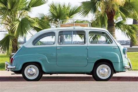 fiat multipla 600 the fiat 600 multipla was the true definition of a minivan