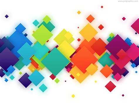 free abstract colorful elements backgrounds for powerpoint abstract colorful squares background psdgraphics