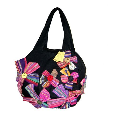Handmade Shoulder Bag - wholesale yunnan handmade patchwork with printing