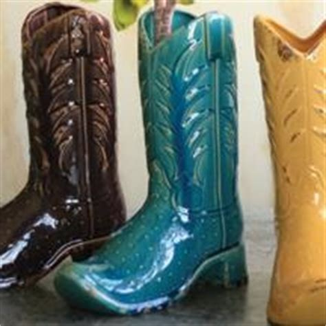 Ceramic Cowboy Boot Vase by 17 Best Images About Cowboy Boot Vase On