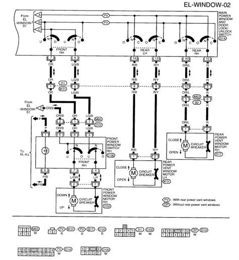 2004 nissan quest transmission wiring diagram wiring