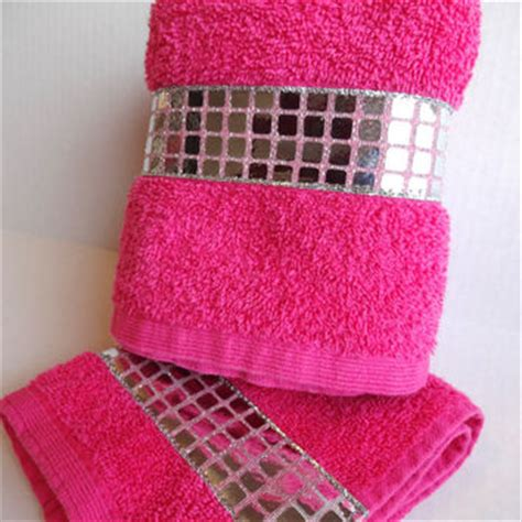 hot pink towels bathroom best hot pink bathroom decor products on wanelo