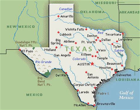 usa map texas state texas map