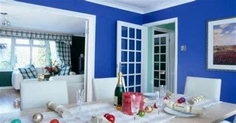 Aplikasi Warna Pada Interior aplikasi warna biru untuk desain interior rumah