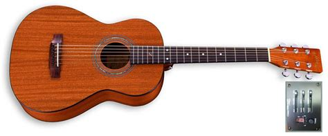 Travel Size travel size solid mahogany electric zager guitars