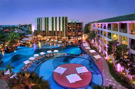 party hotels  bali  popular hotels