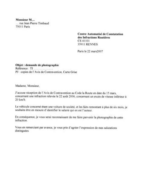 Demande De Nouvelles Lettre Lettre De Demande De Photographie Suite 224 Un Avis De Contravention Plumeacide Le De