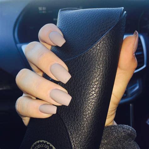 matt color matt colored acrylic nails nails