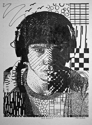 grid pattern portrait grid self portrait ideas lessons middle school pinterest