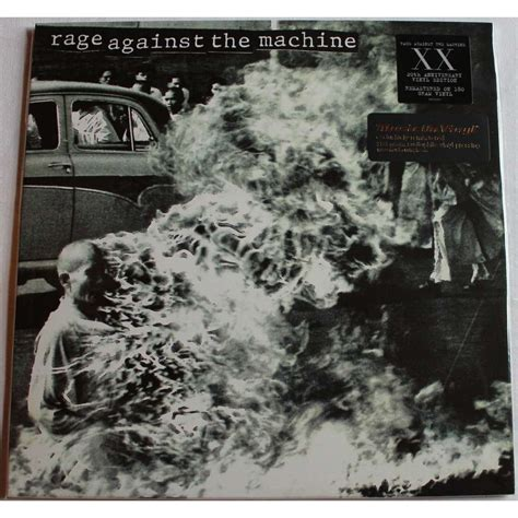 Kaos Rage Againt The Machine Musik Rock 01 rage against the machine xx 20th anniversary edition by rage against the machine lp 180 220