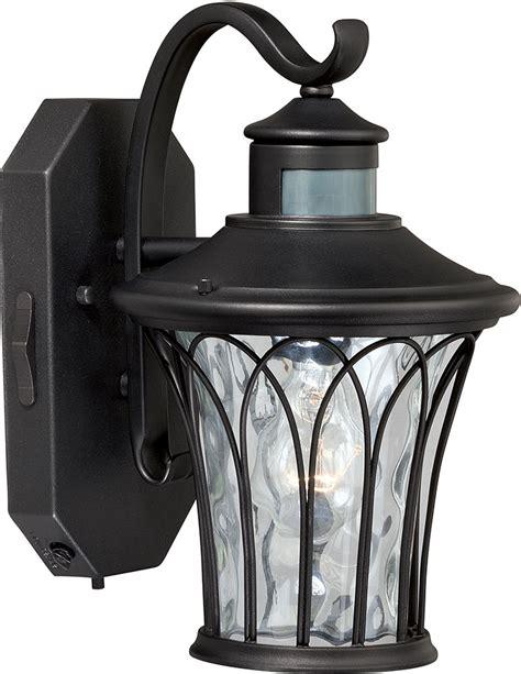 Traditional Outdoor Lighting Fixtures Vaxcel T0123 Abigail Traditional Textured Black Outdoor Wall Smart Lighting Light Fixture Vxl