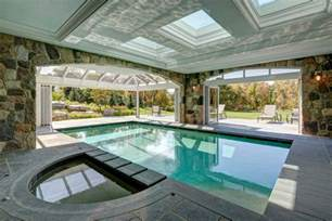 Grey Turquoise Bathroom Indoor Outdoor Pools Exterior Traditional With Backyard