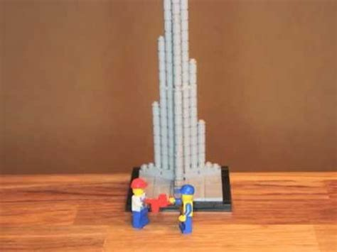 How To Make Burj Khalifa Out Of Paper - lego architecture burj khalifa in dubai