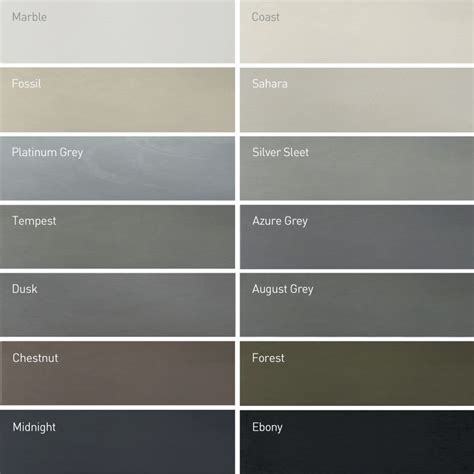 grey color names 25 best ideas about ral colours on pantone to