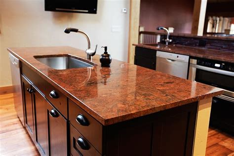 Wood Island Tops Kitchens Spectacular Granite Colors For Countertops Photos