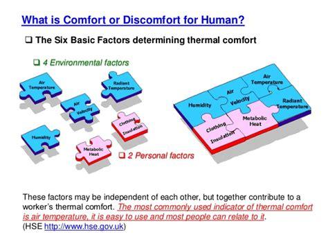 human comfort definition thermal comfort factors images