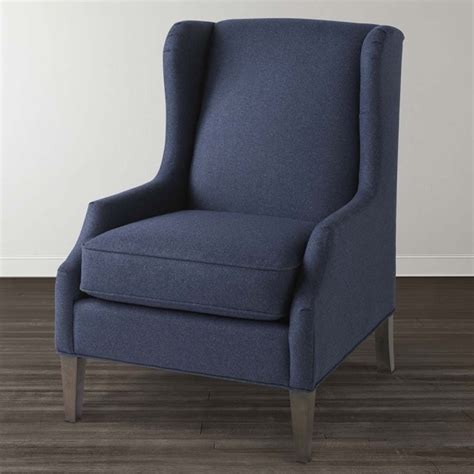 Blue Accent Chair With Arms by Home Living Room With Blue Accent Chair With Arms Vintage